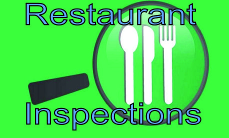 Restaurant Inspection button